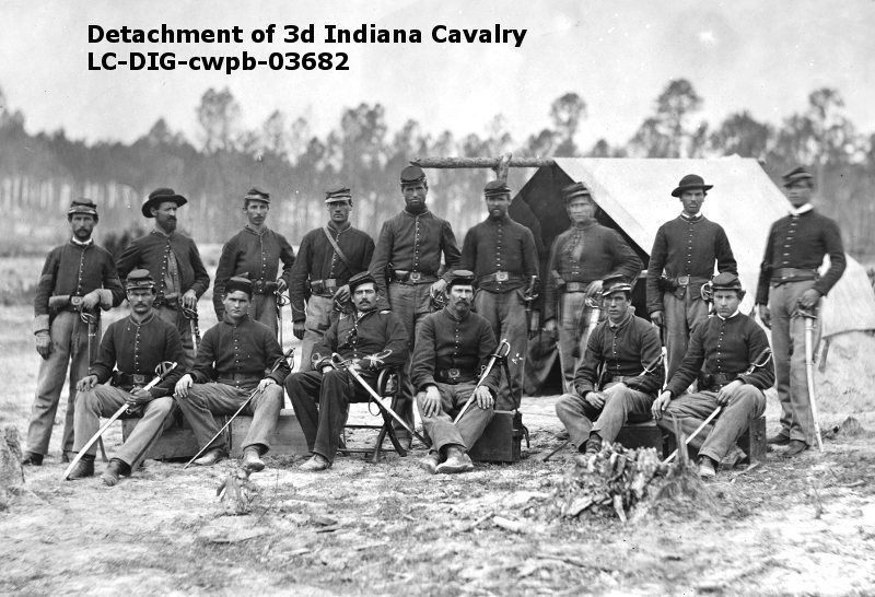 The 3rd Indiana Cavalry Was Combined During The Gettysburg Campaign With The 12th Illinois Cavalry The 3rd Brought 313 Me Cavalry American Civil War Civil War