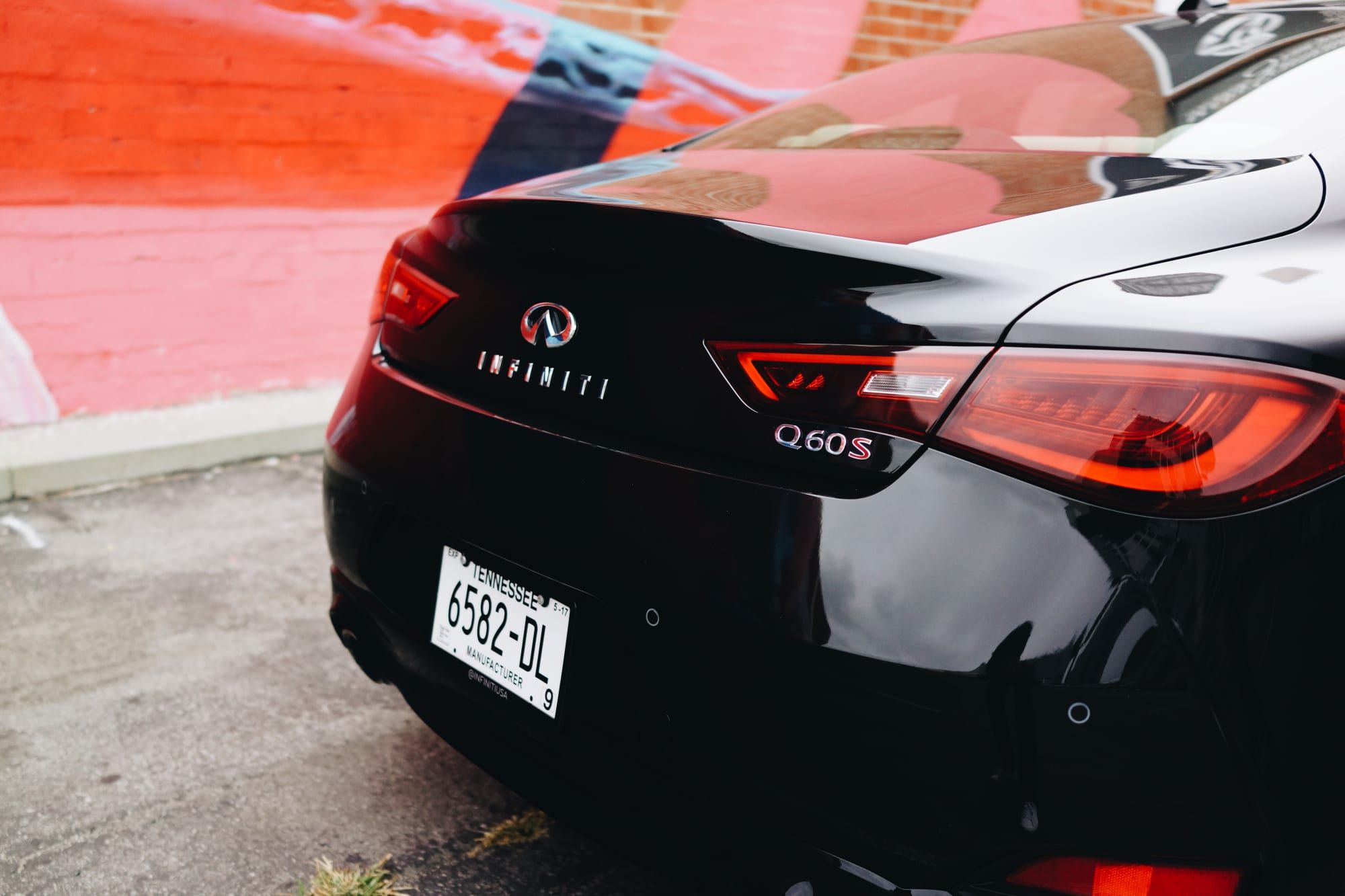 Infiniti's Q60 Red Sport points their performance line in