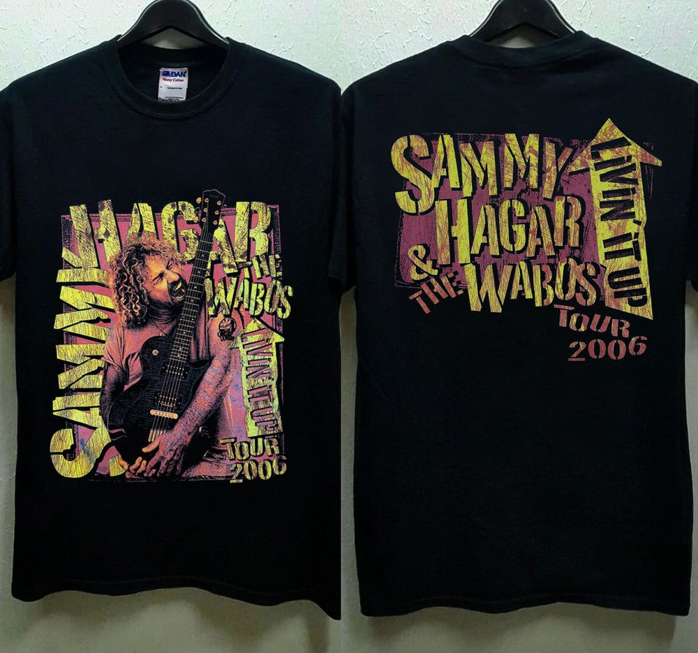 Hot Sammy Hagar And The Wabos Tour 2006 Vintage T Shirt Gildan Reprint Best Fashion Clothing Shoes Accessories Mensclothi Vintage Tshirts Shirts Mens Tops