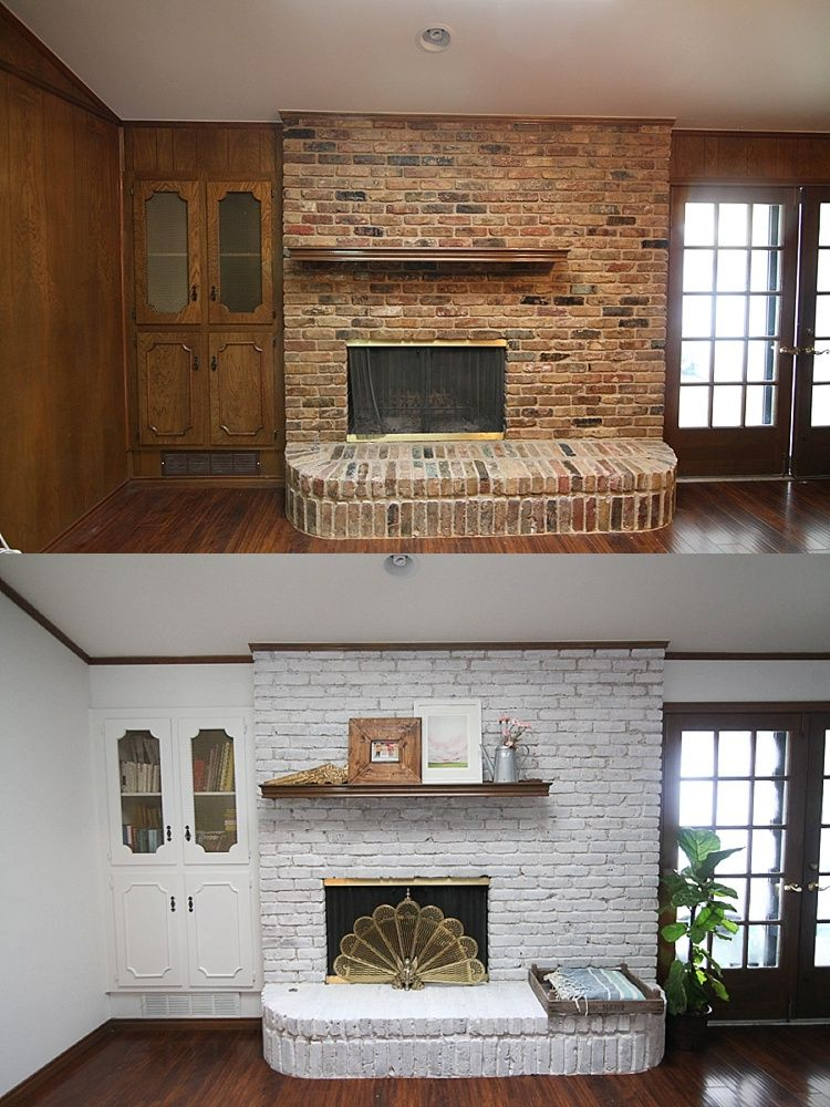 Bricks and Living room redo