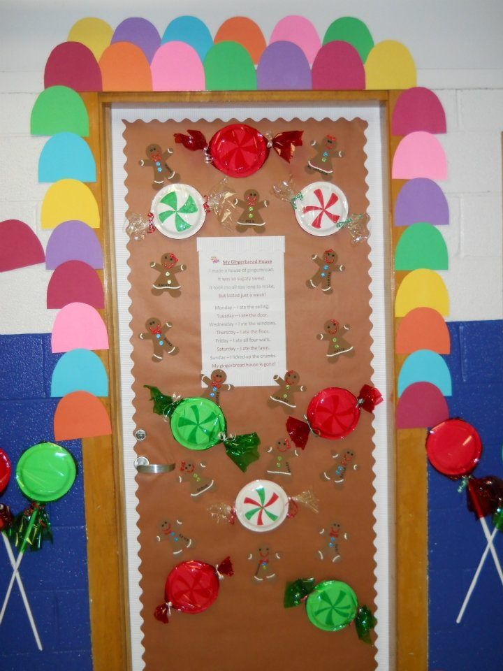 Preschool Classroom Decoration For Christmas : Classroom christmas decorations door