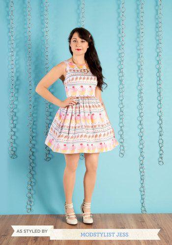 Cupcakes!!! My Sweet Art Dress, #ModCloth