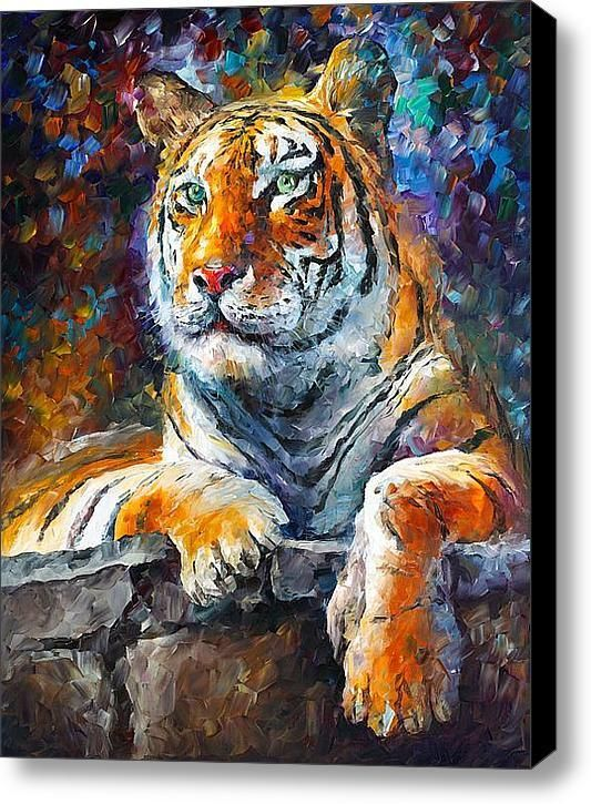 Painting of Siberian Tiger