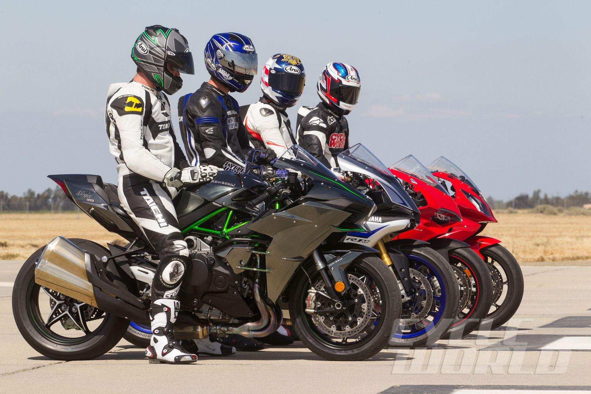 Superbikes vs. Supercars Performance Shootout Motorcycle