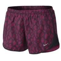 "Nike Dri-FIT 3.5"" Modern Tempo Shorts - Women's - Pink / Black"