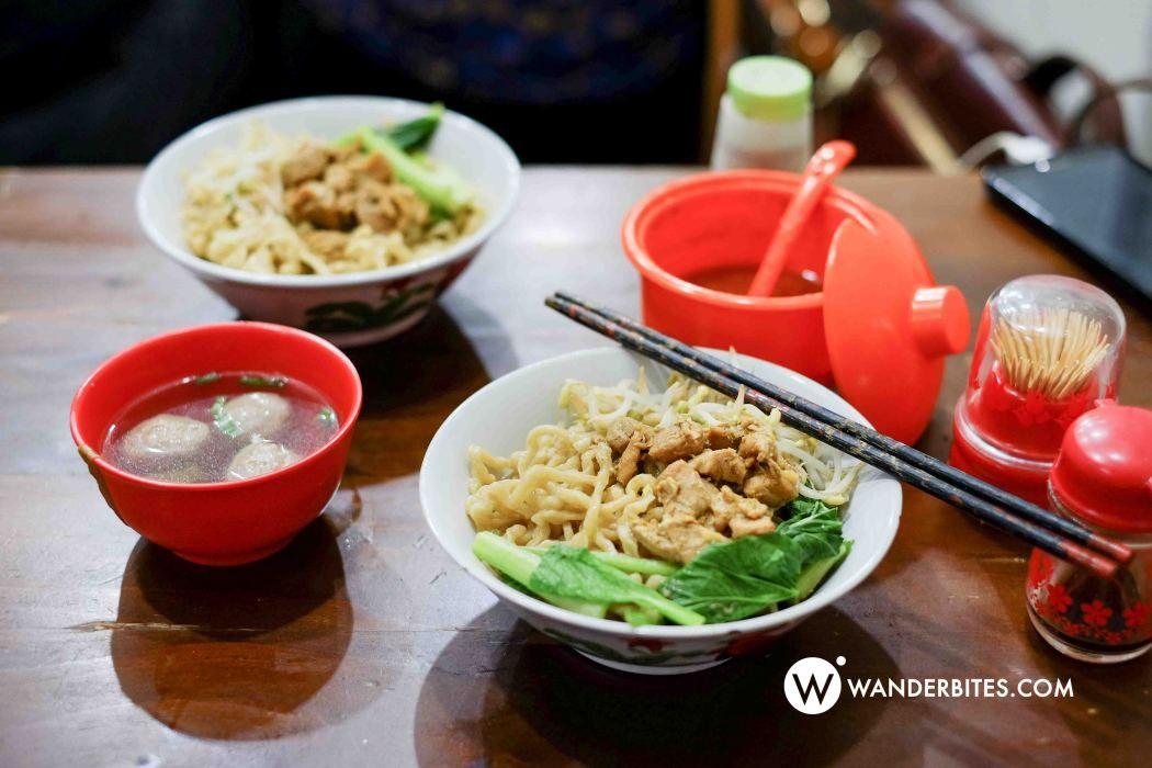 Mie Chino Pasar Santa (Wanderbites Jakarta Food Blogger)