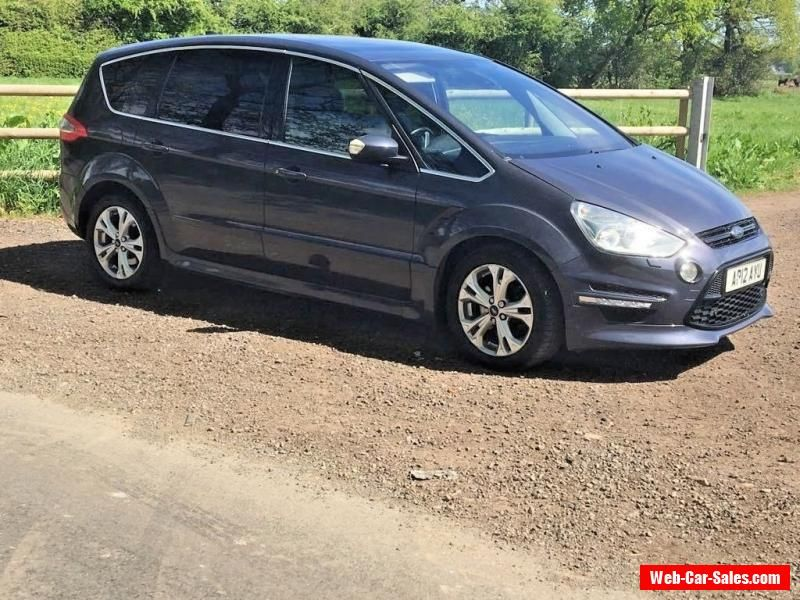 2012 Ford S Max Titanium Auto 2 0 Diesel 7 Seater Damaged Repairable Salvage Ford Smax Forsale Unitedkingdom