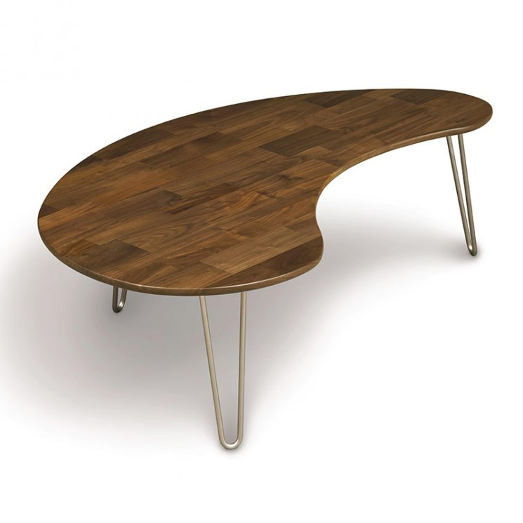 Essentials Kidney Shaped Coffee Table In 2020 Wood Furniture