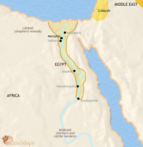 History Map Of Egypt BC World History Pinterest Ancient - Egypt on world map