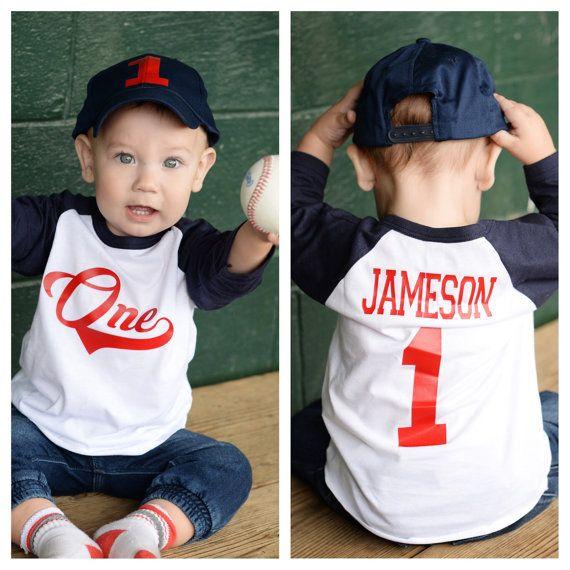 Baseball Birthday Shirt Boys Birthday Shirt By