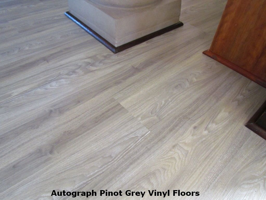 Gray Vinyl Flooring That Looks Like Wood Photos