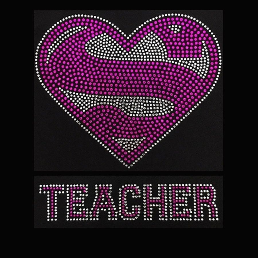 Super Teacher Pink 9 75x10 Blusas Juveniles Moda Blusas Juveniles Chidas