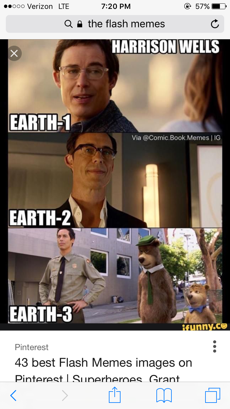 Pin By Autumn Fichera On The Flash The Flash Earth 2 Memes