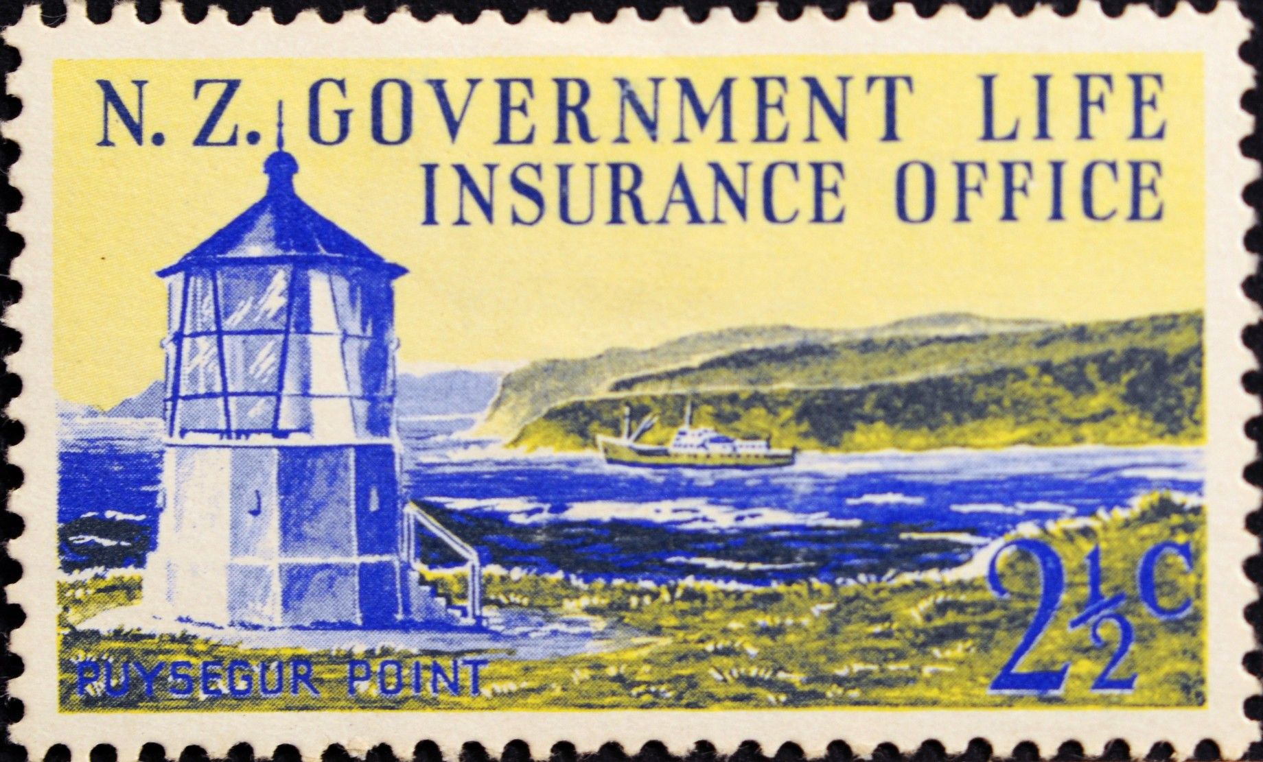 New Zealand (250) 1969 Life Insurance Department