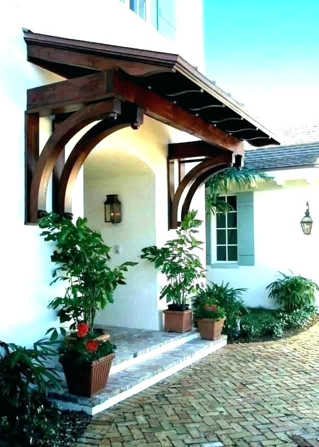 Door Awnings Awning Plans Best Of How To Build A Wood Diy ...
