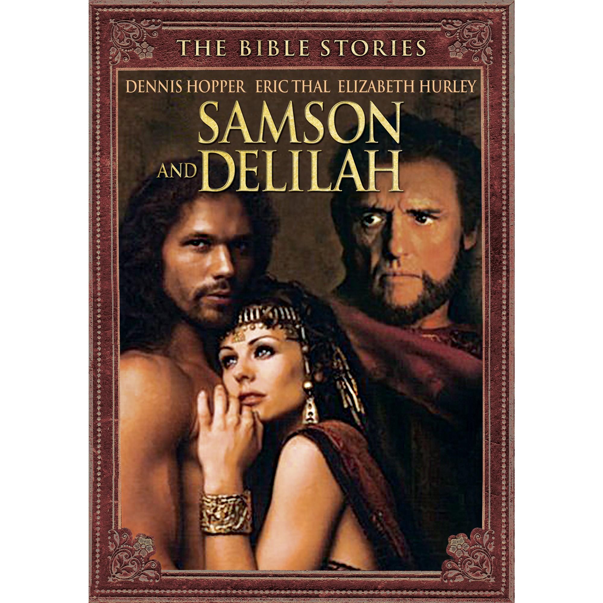 Bible Stories Samson And Delilah Dvd