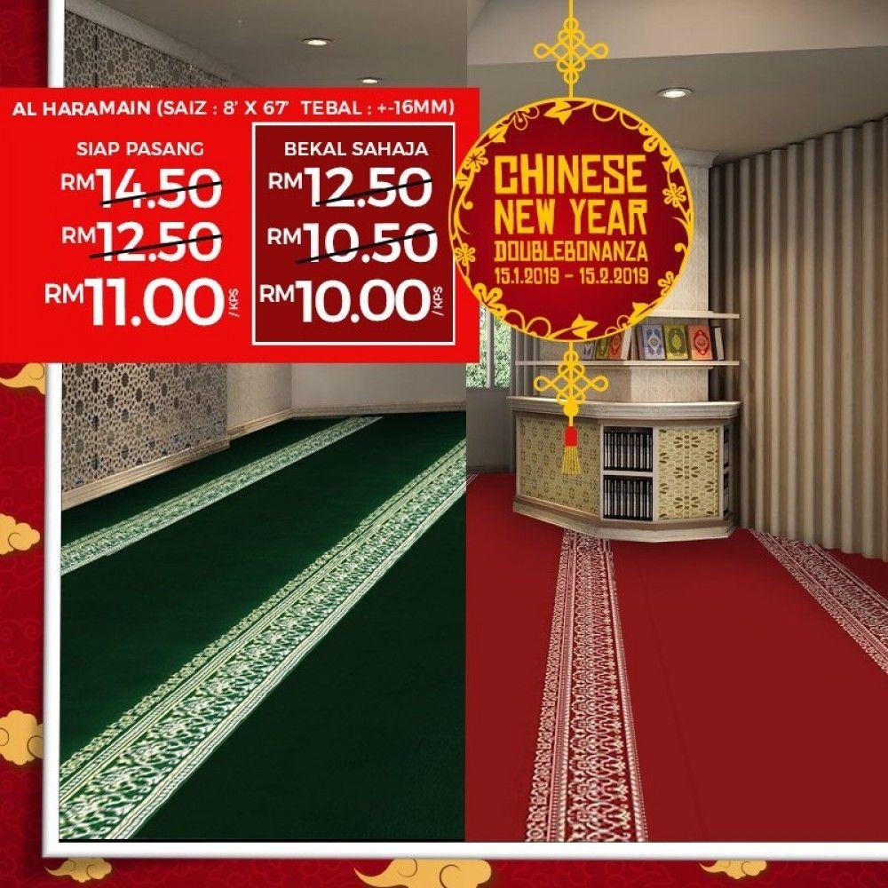 Chinese Newyear Double Bonanza Promo Is Back Selangor Wellness Design Selangor Masjid
