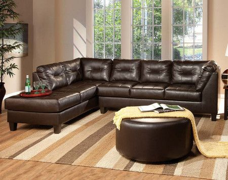 Chocolate Brown Sectional Sofa White Is The Most Refined Of Colours This Color Generates A Delightful Feeling These Sect