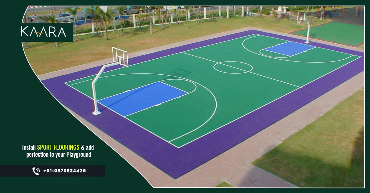 Get KAARA's Premium Quality Sports Flooring and take the experience of playing your favorite sport to the next level. The high-quality Sports Flooring is made to match the international standards that add the same enthusiasm and thrill at your space. To buy, call us at +91-9873834426 OR mail us your details at contact@kaaradecor.com #kaara #kaaradecor #SportsFlooring #Flooring #sportsfloors #QualitySportsFlooring