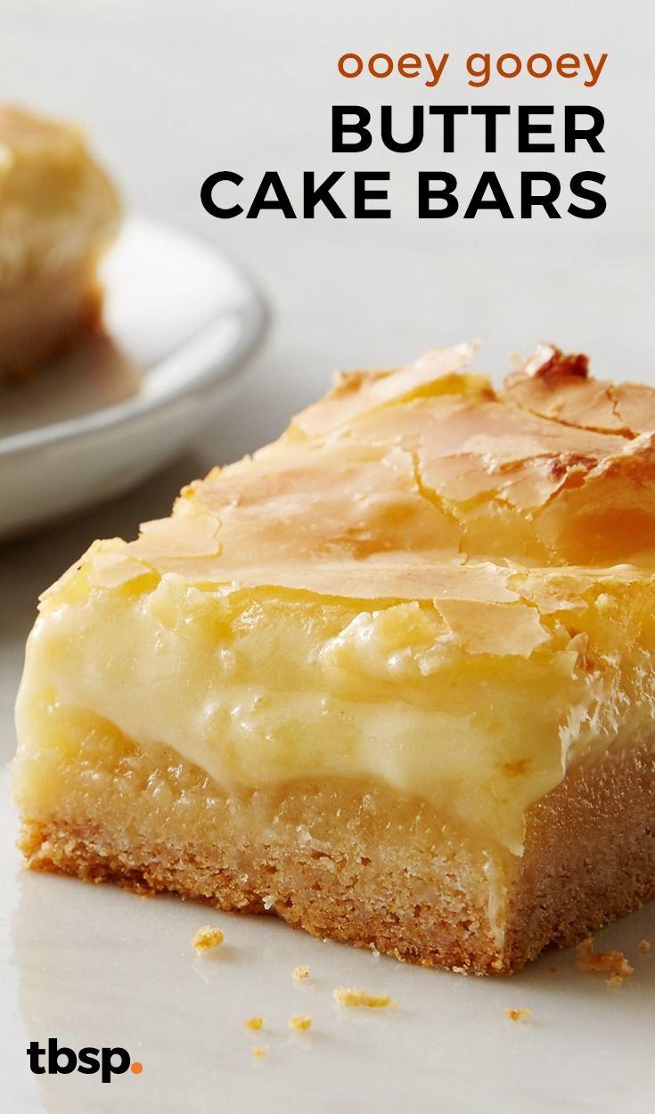 Ooey Gooey Butter Cake Bars Recipe Desserts Cream Cheese Bars Recipe Best Cake Recipes