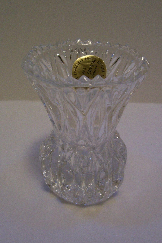 Princess House West Germany 24 Lead Crystal Toothpick Holder