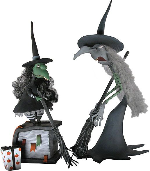 Tim Burtons la Nightmare Before Christmas Action Figure Harlequin DEMONE NUOVO
