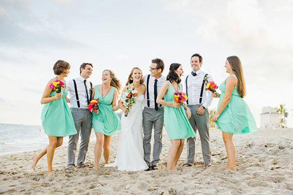 Fun Fort Lauderdale Beach Wedding