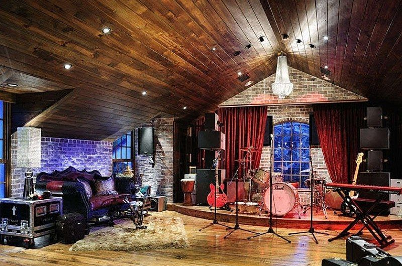11 Dazzling Home Stages That Steal The Spotlight Home Music