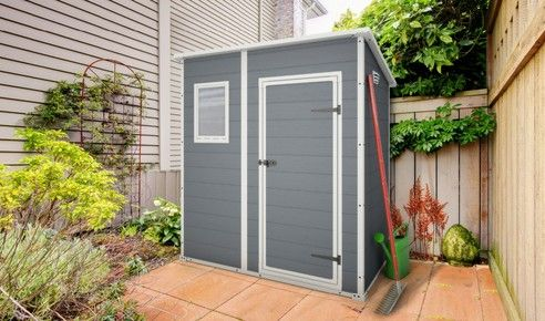 manor pent shed 6x4 storage buildings by keter