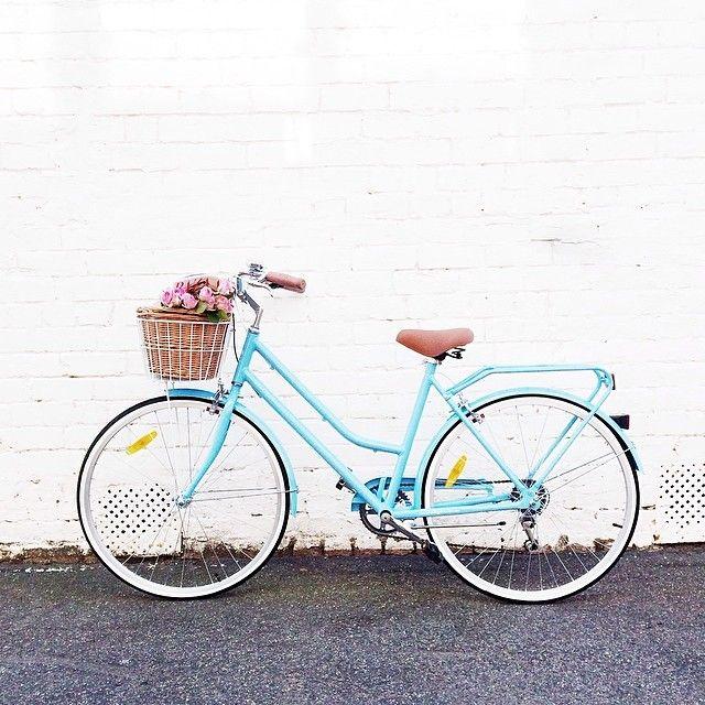 Mycrazy Beautifulife Blue Bikes Retro Bicycle Vintage Bicycles