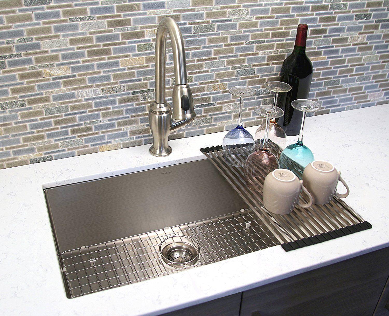 Frigidaire Undermount Stainless Steel Kitchen Sink 10mm Radius