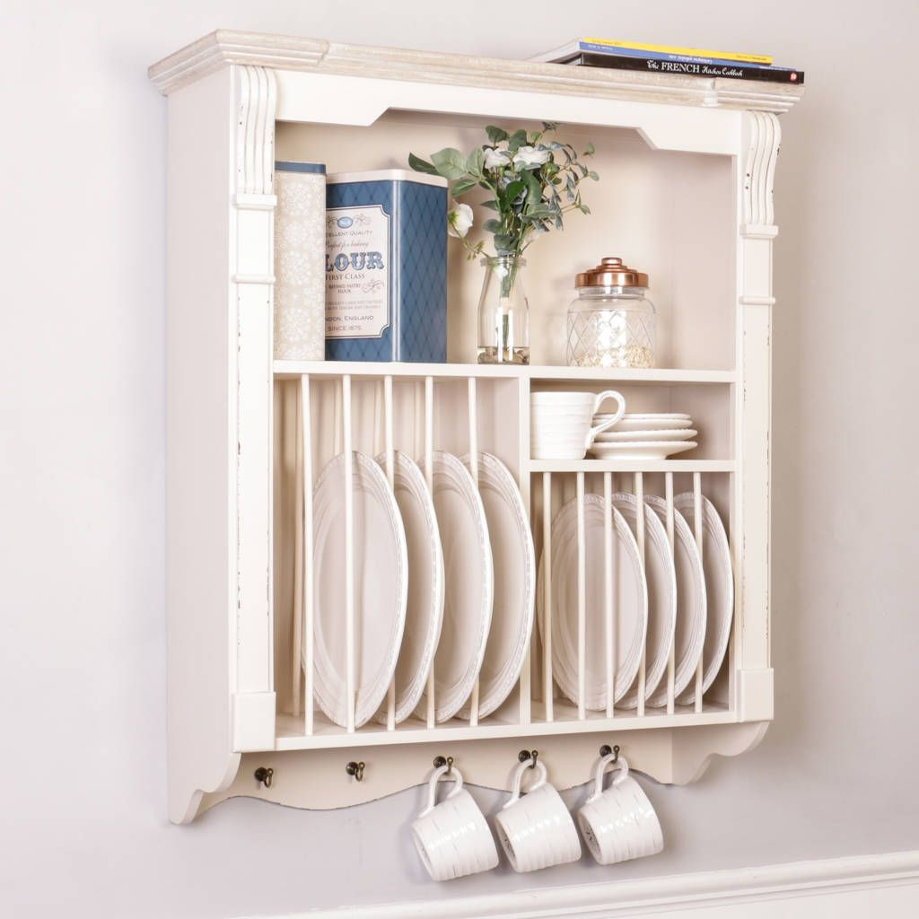 Are you interested in our Ricotta Cream Wooden Kitchen Plate Rack? With our cream plate  sc 1 st  Pinterest & Ricotta Cream Wooden Kitchen Plate Rack | Cream plates Plate ...