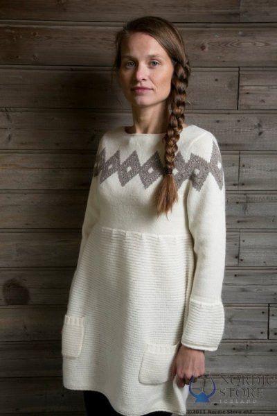 Freyja Dress White