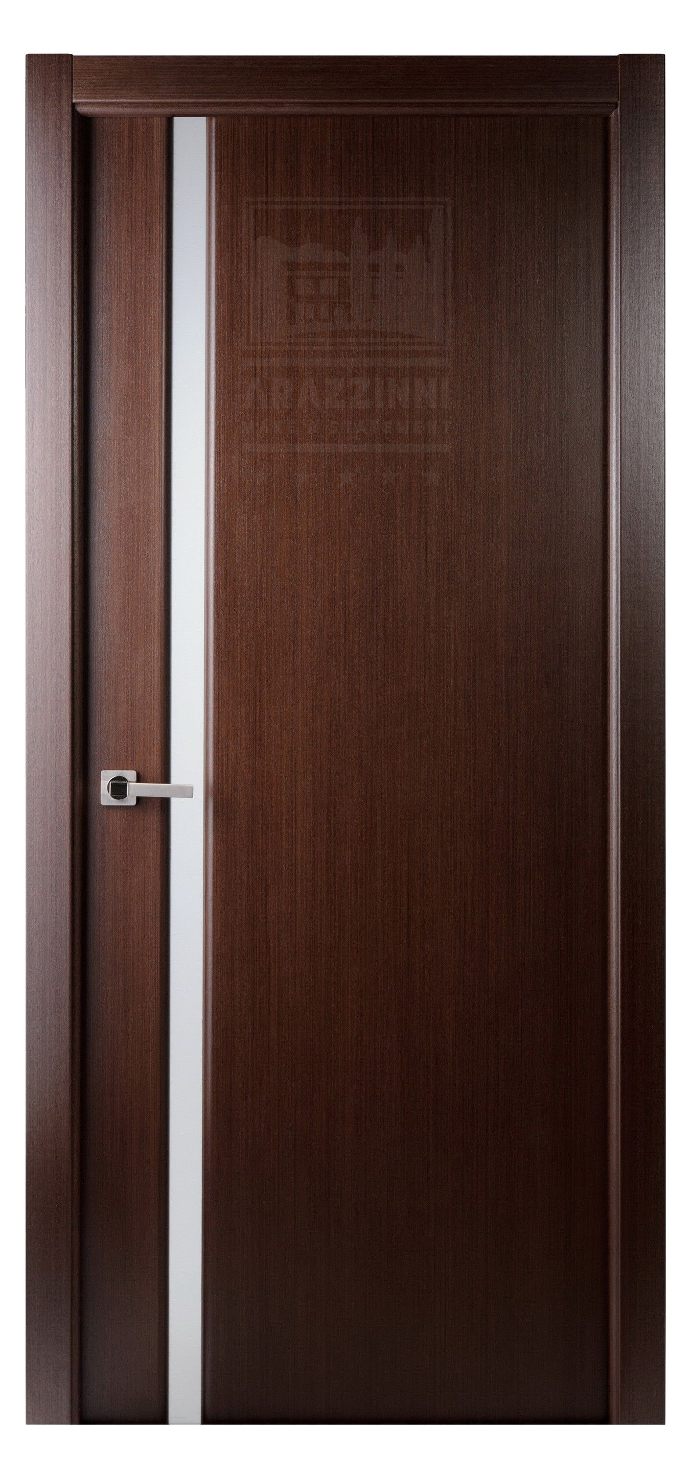 grand 208 interior door in a wenge finish | exotic wood veneer