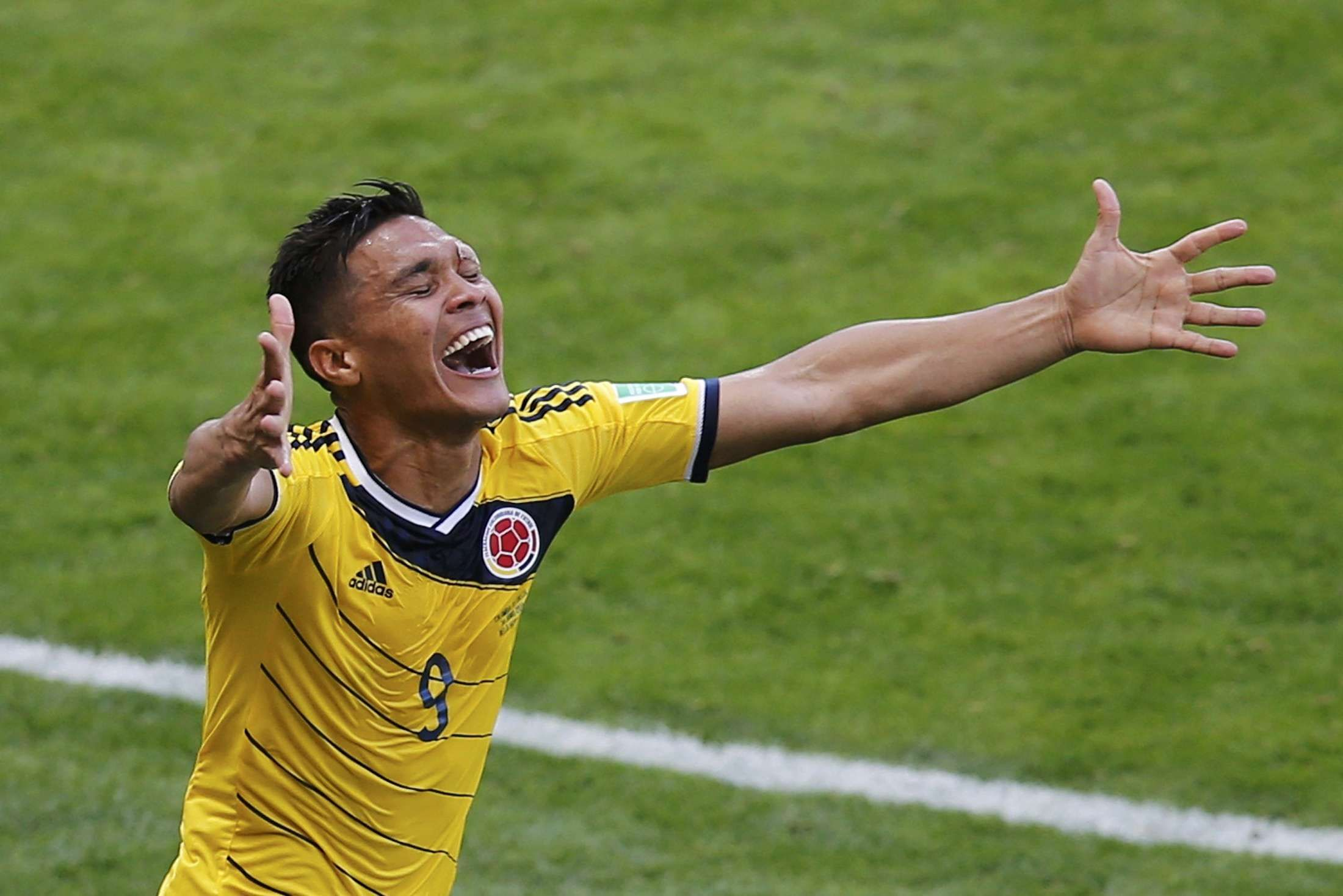 Teo Gutierrez (Colombia 3 Grecia 0) Colombia