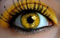 Citrine Eyes Yellow Eyes Eye Art Eyes