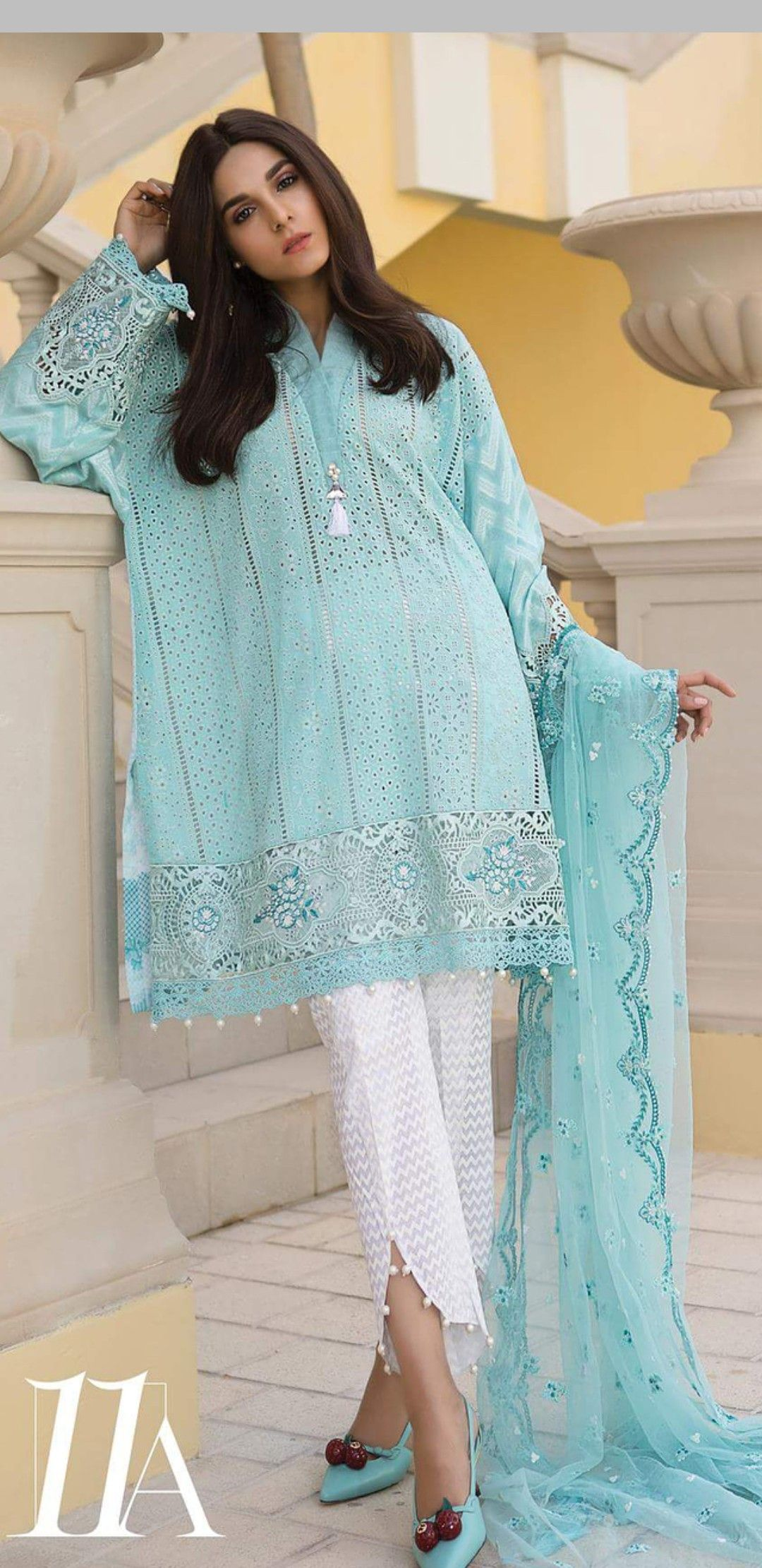 Casual wear dress, Pakistani fashion