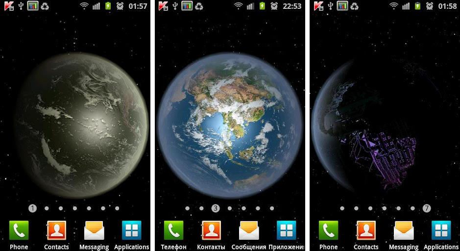 TOP 10 BEST LIVE WALLPAPERS FOR ANDROID 2014 Free 2