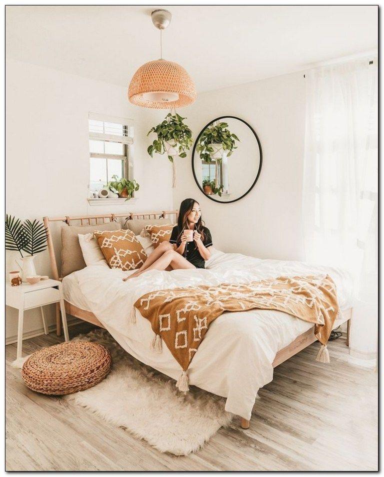 51 Our Favorite Boho Bedrooms And How To Achieve The Look Ikea Bedroom Minimalist Bedroom Design Bedroom Design