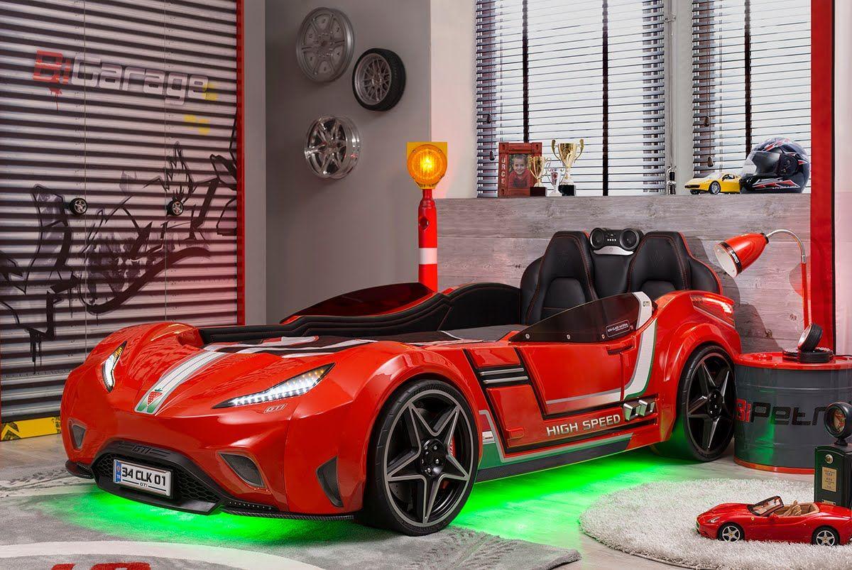 ÇilekChampion Racer Race car bed, Car bed, Kids car bed