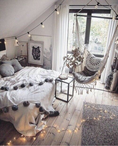 Imagen De Room, Home, And Bedroom · Hipster Bedroom DecorVintage ...