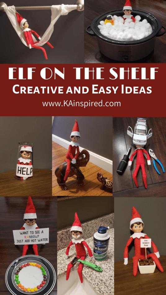 Elf On The Shelf Ideas #elfontheshelfideas