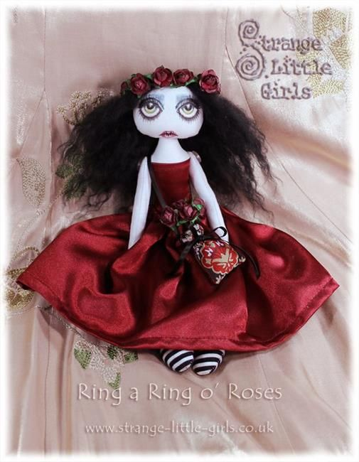 Art 'Laura Lament' - by Jo Hards from Gothic art dolls
