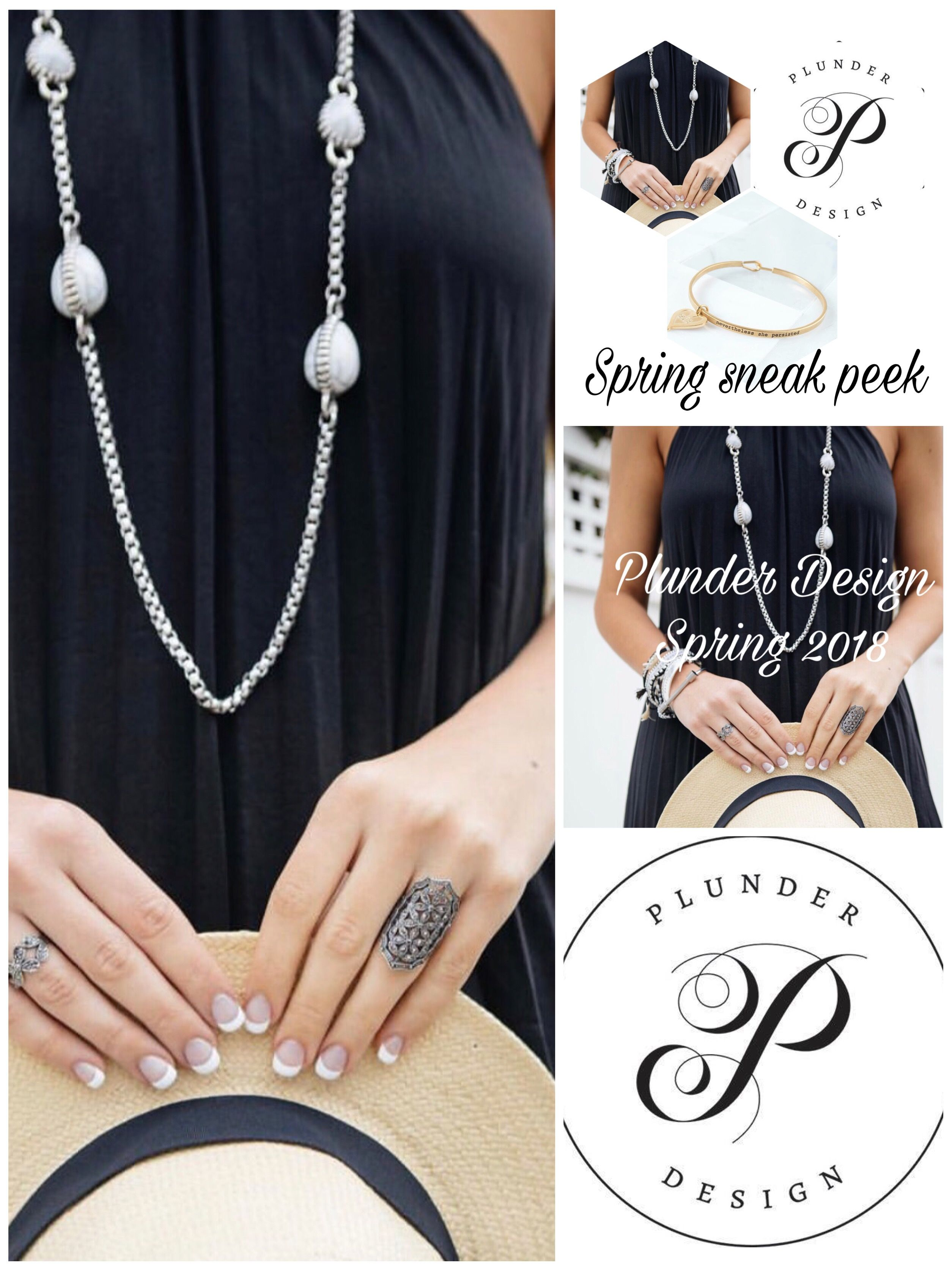 396875e7c Spring 2018 sneak peek. ❤ Plunder Design | Plunder | Jewelry ...