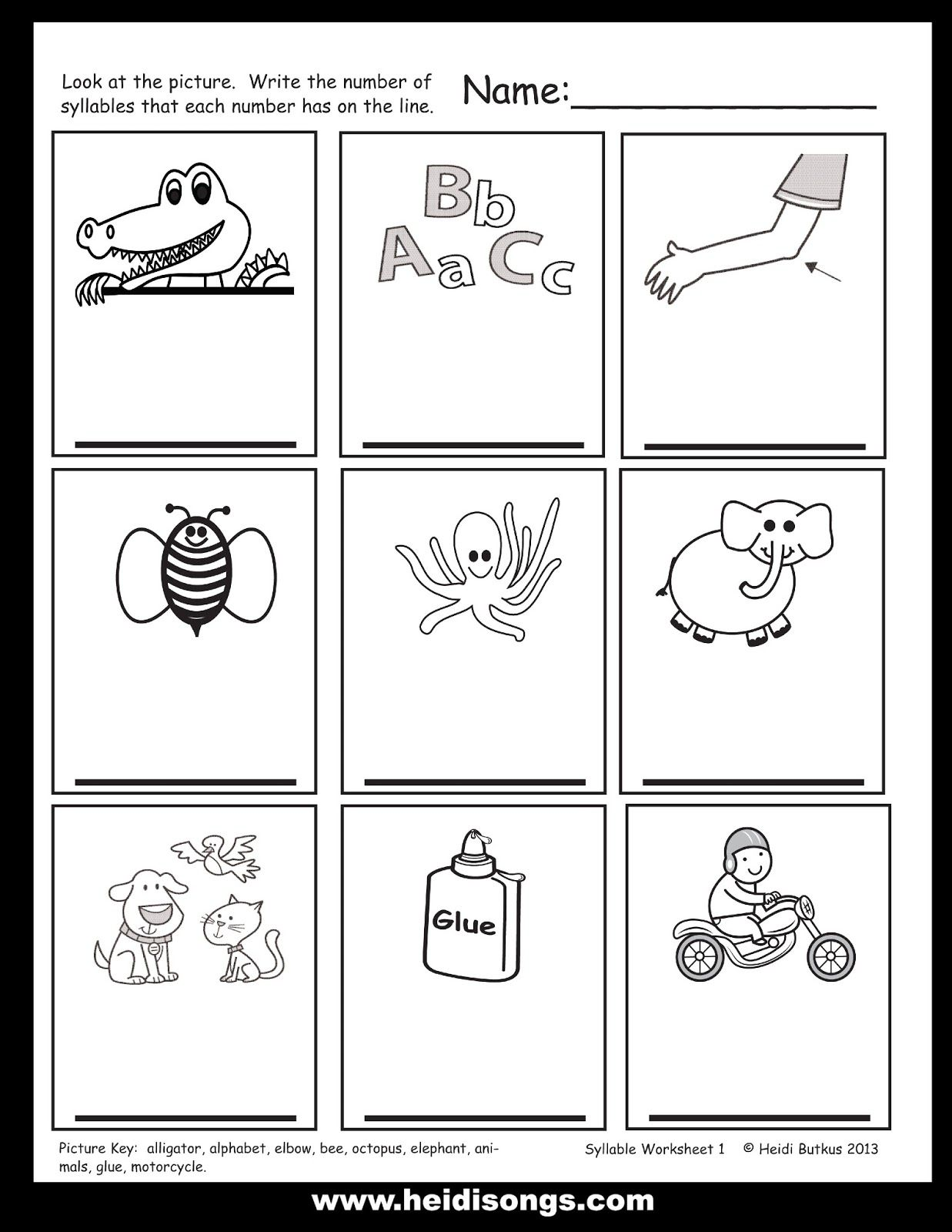 Syllable Pockets Freebie And Tips For Teaching Syllable