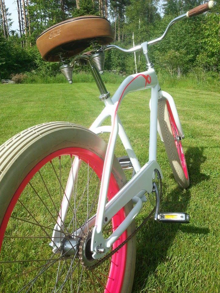 Sykkelen til Bjarne André Tvetene som skal sykle granfondo don pedro