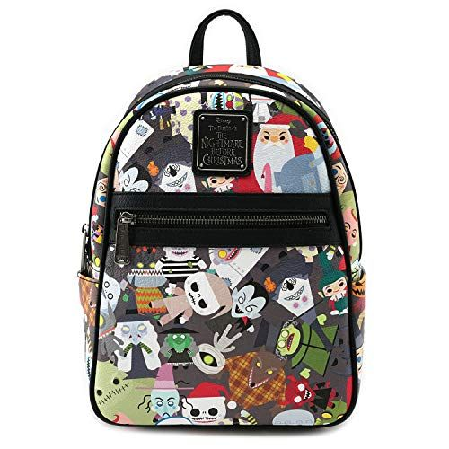 c83d52b755e4 Loungefly x Nightmare Before Christmas Chibi Character Mini Backpack ...