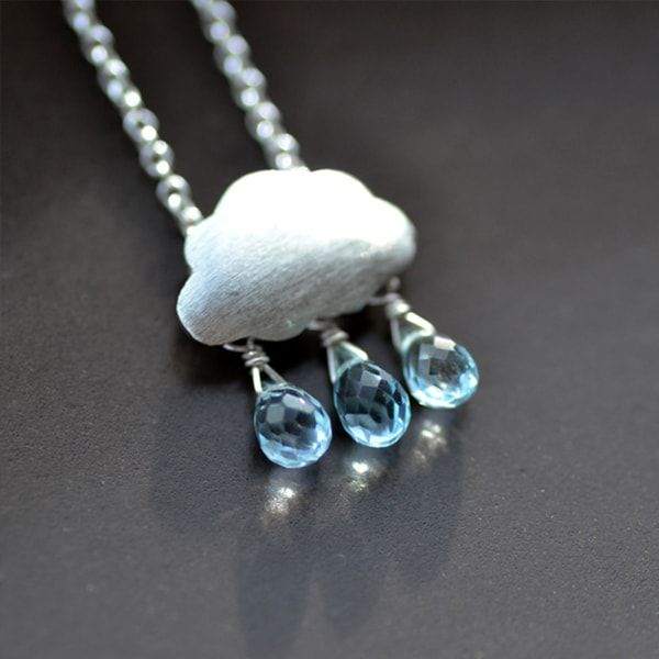 Rain Cloud Necklace | Fashion - Everyday Style | Trendy ...