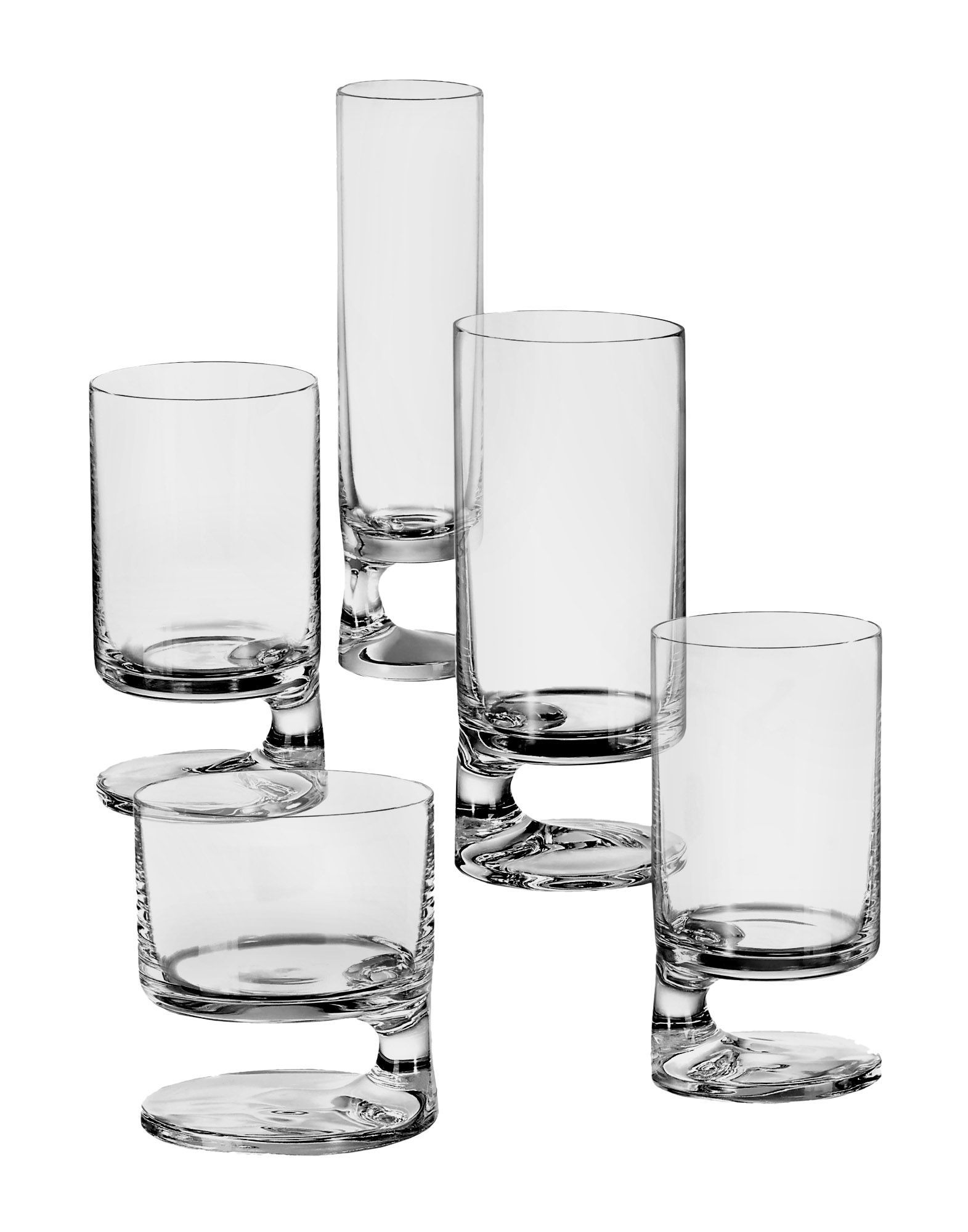 10 Underrated Glassware Sets By Iconic Designers That You Can Buy Right Now Sight Unseen Glassware Design Unique Glassware Smoked Glass
