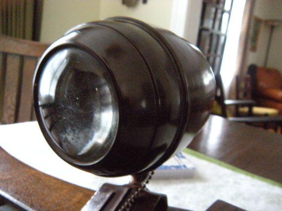 Antique Art Deco Atomic Bakelite Beehive Clamp by recoveredrelics, $49.99